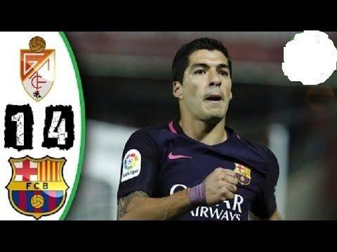 Barcelona vs Granada All Goals 1-4 & Highlights। La Liga 02/04/2017