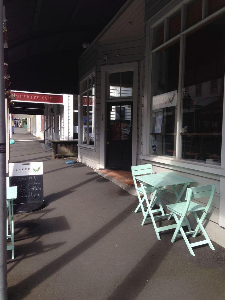 Wellington cafe