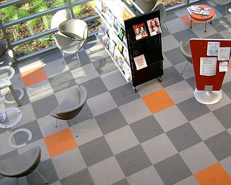 my trouvaille commercial vinyl tile yay or nay - Vct Pattern Ideas