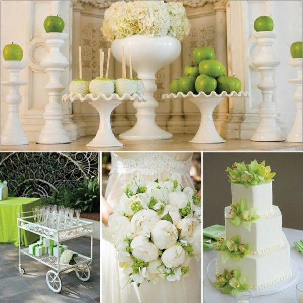14 best apple green weddings images on pinterest green weddings wedding and party inspiration green white occasions weddings parties junglespirit Image collections