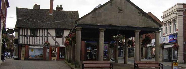 The Buttercross in the centre of Market Drayton