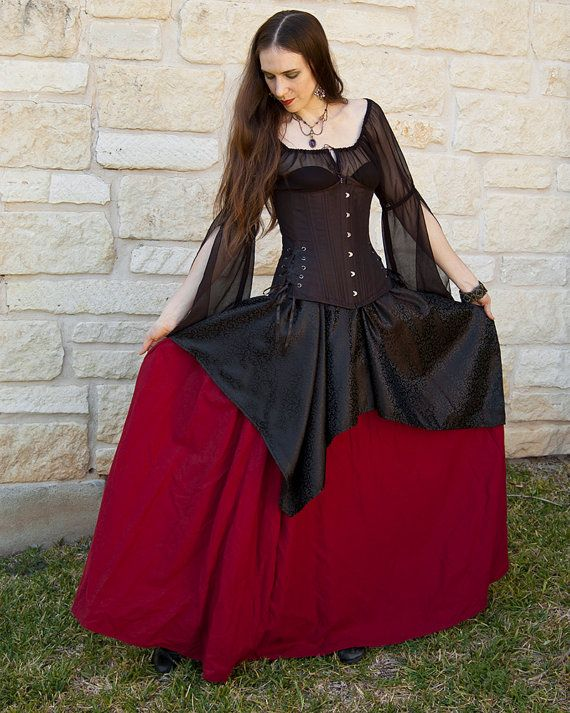 Hey, I found this really awesome Etsy listing at https://www.etsy.com/listing/180927042/roman-red-long-renaissance-skirt