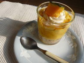「パンプキンヨーグルトクリームケーキ」あじよし | お菓子・パンのレシピや作り方【corecle*コレクル】