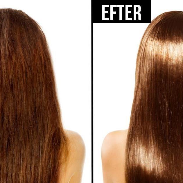 Smeta in 2 oväntade ingredienser i håret – resultatet kommer förvåna dig