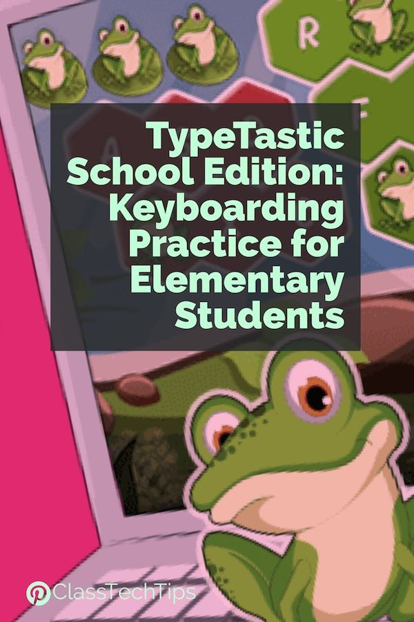 TypeTastic School Edition is an ad-free web-browser based tool for students. They focus on presenting keyboarding practice in a series of games for students to master as they work through different activities. typing websites, typing apps