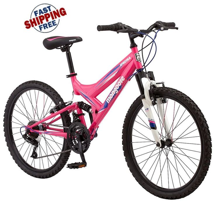 Best Mongoose 24 Inch Girl Spectra Mountain Bike, Pink New Free Shipping  #Mongoose