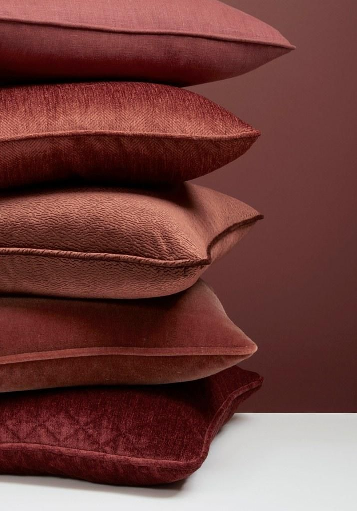 Kravet presents a capsule collection of perfectly paired fabrics in pantone Color of the Year 2015 Marsala
