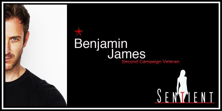 Congratulations to Actor, Benjamin James on joining our Honor roll. Looking good Ben!   http://www.sentient.tv/members/benjaminj/profile/