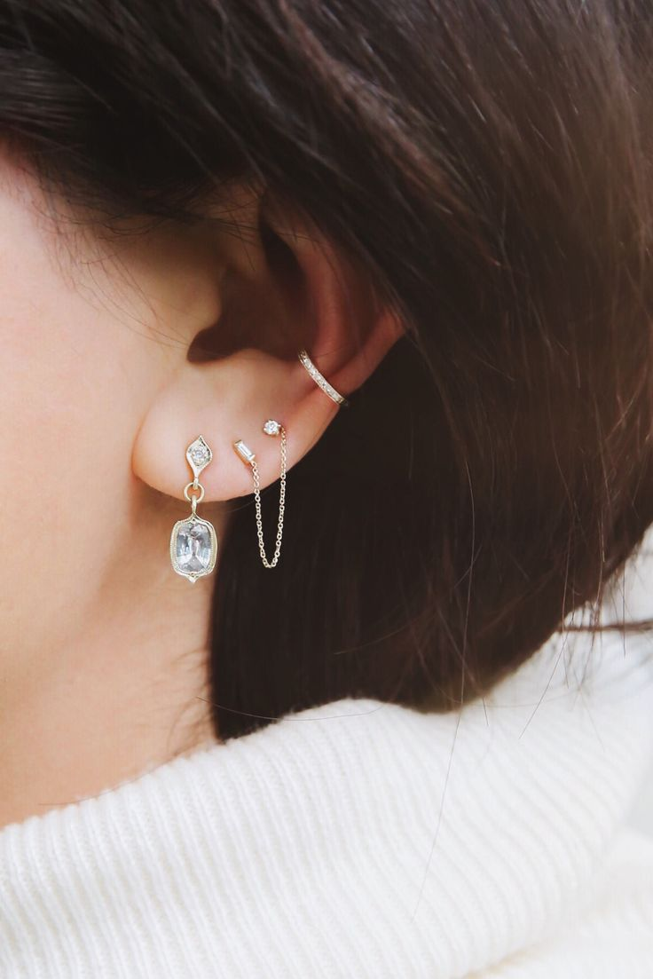 all the pretty earrings at ABC Carpet & Home