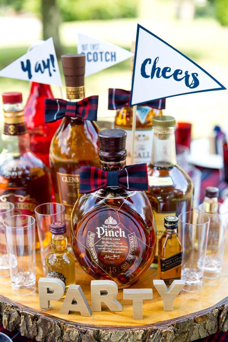 1fd009193f9de A Dapper Gentleman s Scotch Themed Birthday Party!