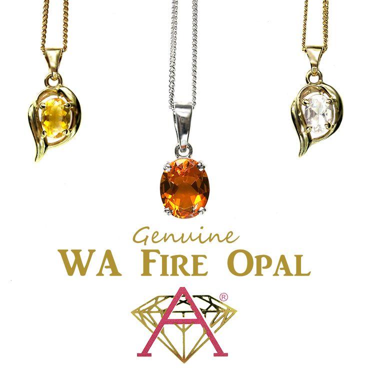 Western Australian Fire Opal.