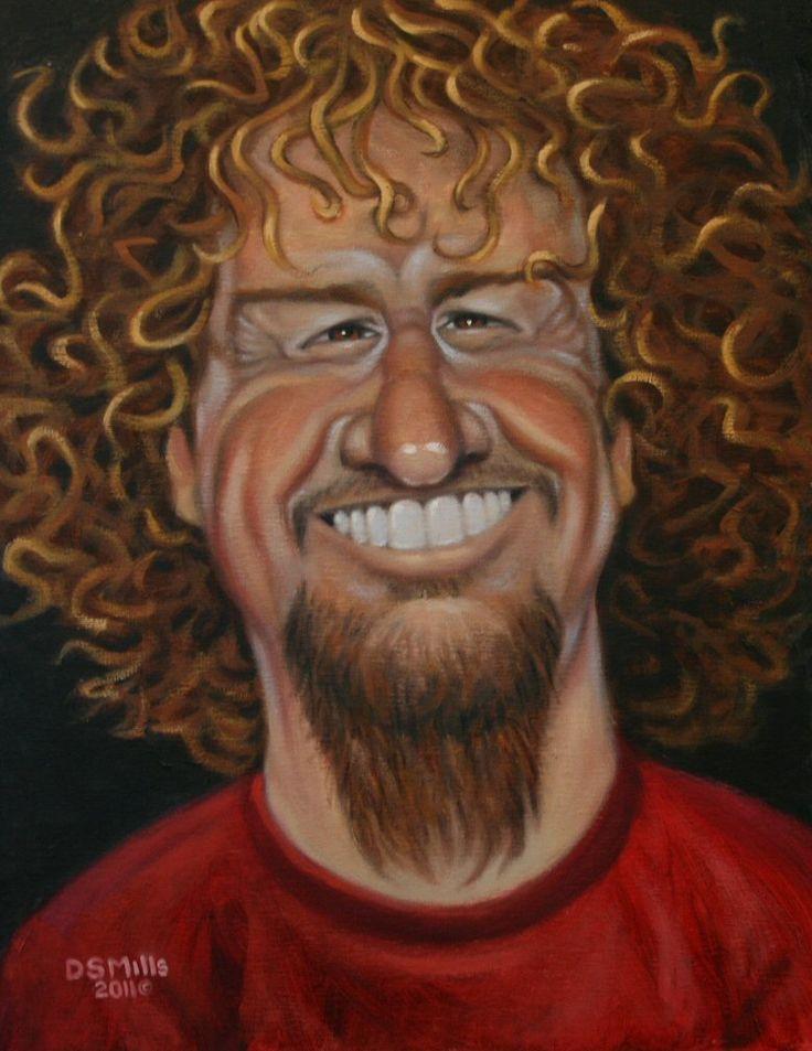 Sammy Hagar by Wolverat.deviantart.com