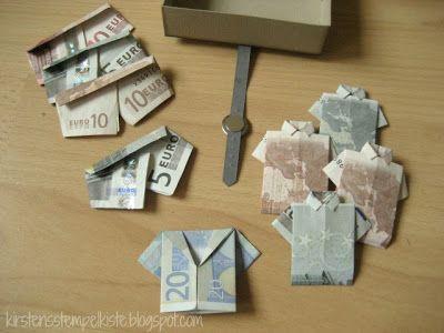 Geldgeschenk für Reisekoffer