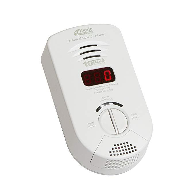 Kidde 900 0282 Plug In Carbon Monoxide Alarm With Digital Display