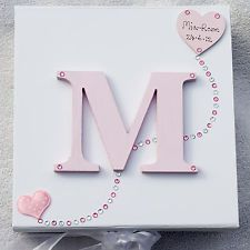 **LARGE** PERSONALISED MEMORY/KEEPSAKE BOX. BIRTH CHRISTENING / BIRTHDAY GIFT