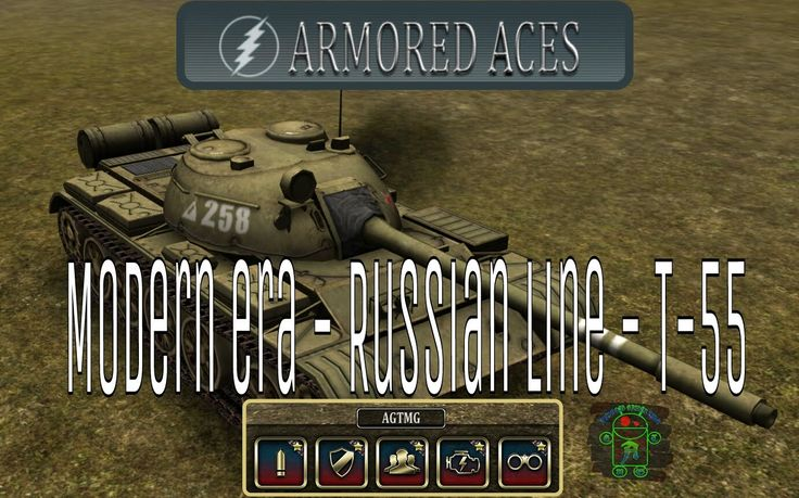 Armored Aces - Full T-55 - Modern Era - Russian Line - Full HD Gameplay (1080p) More Full HD Android Gameplays: https://www.youtube.com/c/AndroidGamerTMG_AGTMG