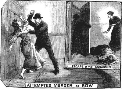 Illustrated Police News | ... the beautiful-grotesque: Scenes of Crime: The Illustrated Police News - Attempted Murder at Bow