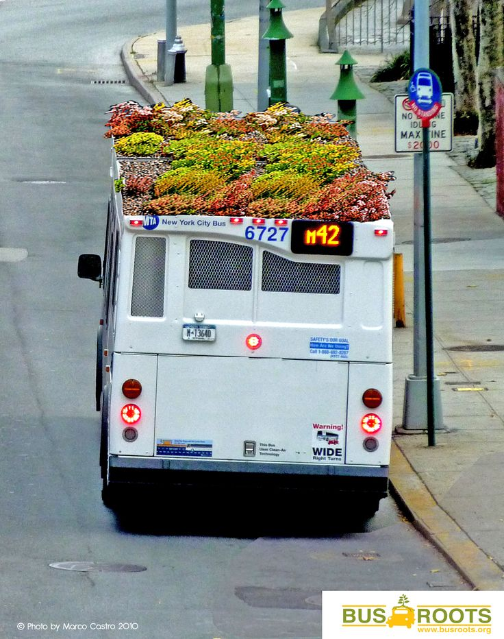 Urban Gardening ten top! Het New Yorkse Bus Roots wil de lokale communities dichter bij de natuur brengen met deze bussen, missie geslaagd?