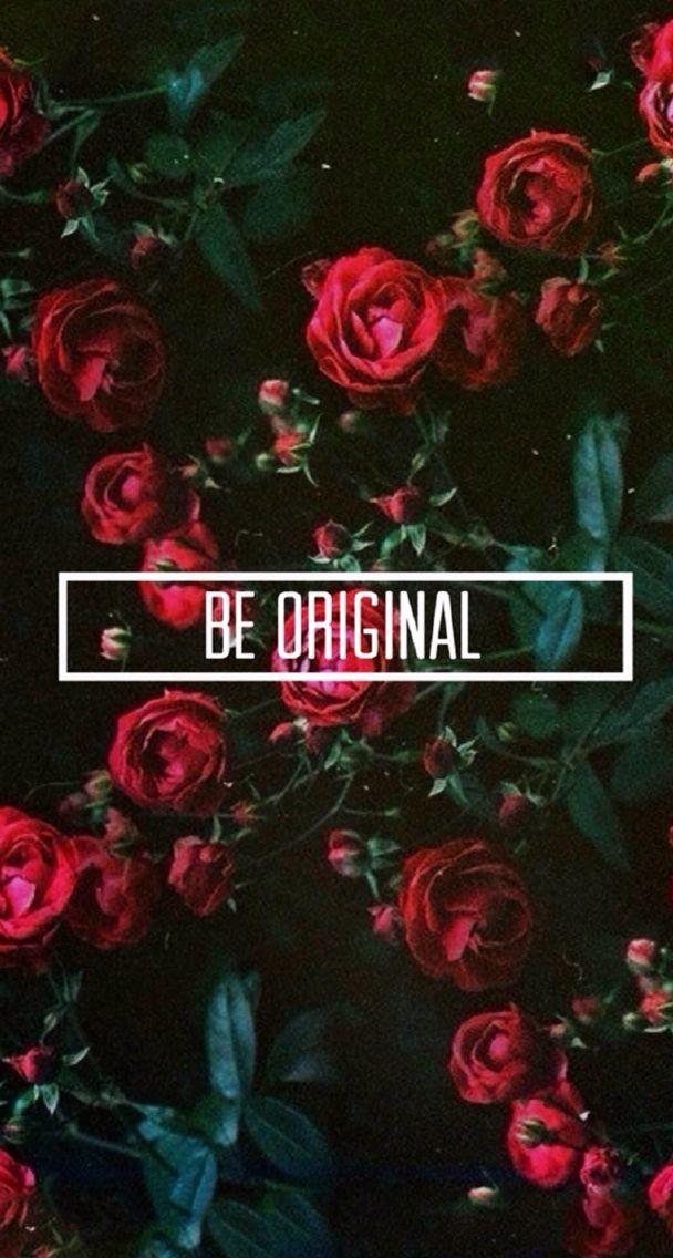 Be original iPhone wallpaper