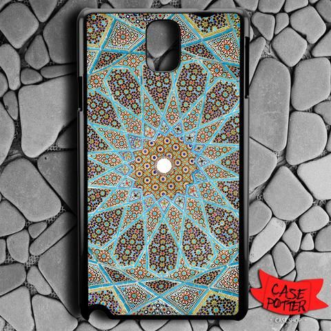 Mandala Pattern Art Samsung Galaxy Note 3 Black Case