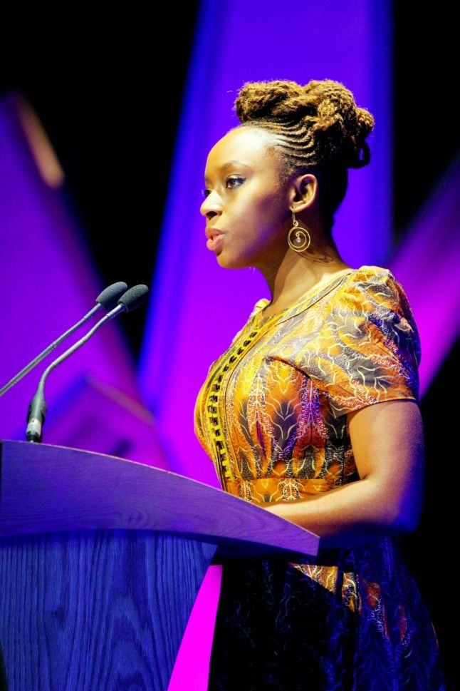 Chimamanda Ngozi Adichie Gave A Speech About Feminism | Marie Claire