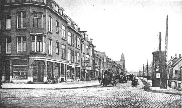 Kleiweg gezien vanaf Kootsekade 1928