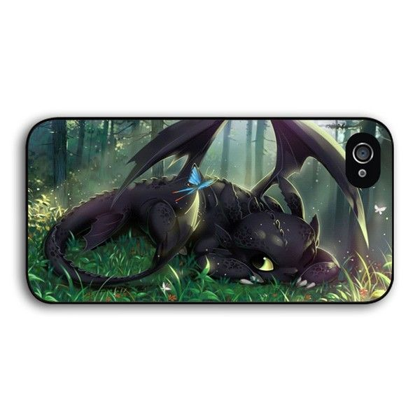 Toothless and Butterfly phone case for iPhone 4s 5s 5c 6 Plus iPod touch 5 Samsung Galaxy s2 s3 s4 s5 mini s6 edge note 2 3 4 5 cases