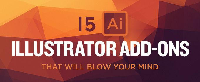 On the Creative Market Blog - 15 Illustrator Add-ons That Will Blow Your Mind