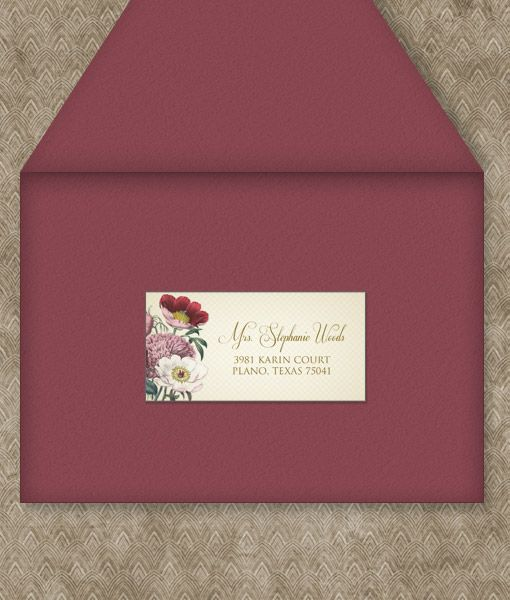 Best Printable Wedding Address Labels Images On