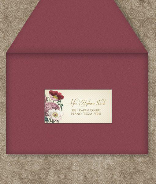 Best 20 wedding address labels ideas on pinterest for Wedding mailing labels templates