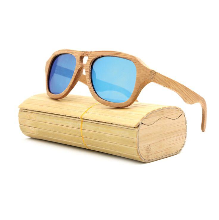 $32.00 - Wooden/Bamboo Retro Vintage Fashion Sunglasses.