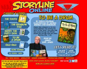 Storyline Online - this is an incredible website of free stories that come with related activities. They are read by members of the Screen Actors Guild. Kids will love this!