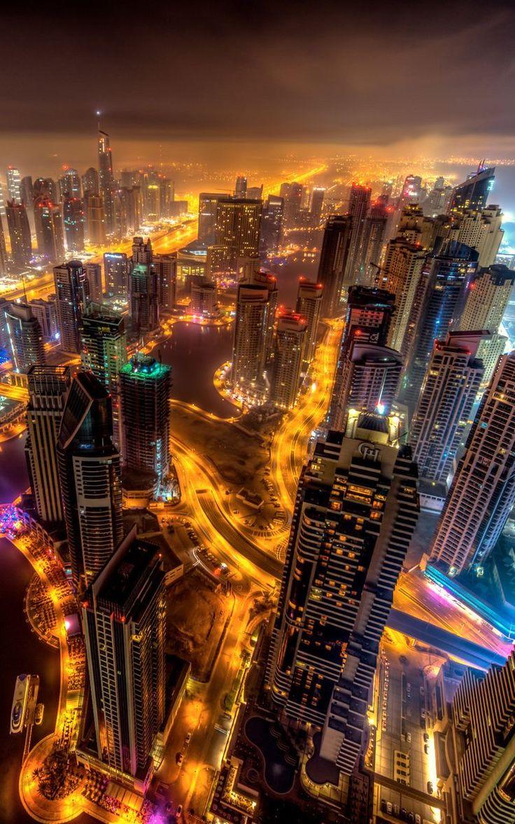 دبي عاصمة للشرق الأوسط In 2020 City Wallpaper Night City City