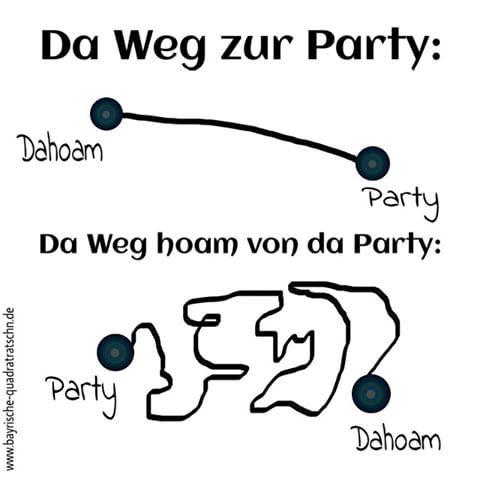 party heimweg lustig blog bairisch bavarian bayrisch boarisch bayerisch. Black Bedroom Furniture Sets. Home Design Ideas