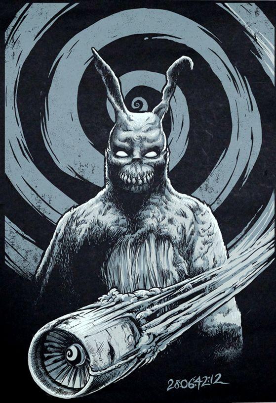 Donnie Darko - god machine. I would love to get this tattooed