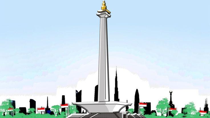 Monumen Nasional (MONAS) Lokasi : DKI Jakarta in Jakarta Negara : Indonesia