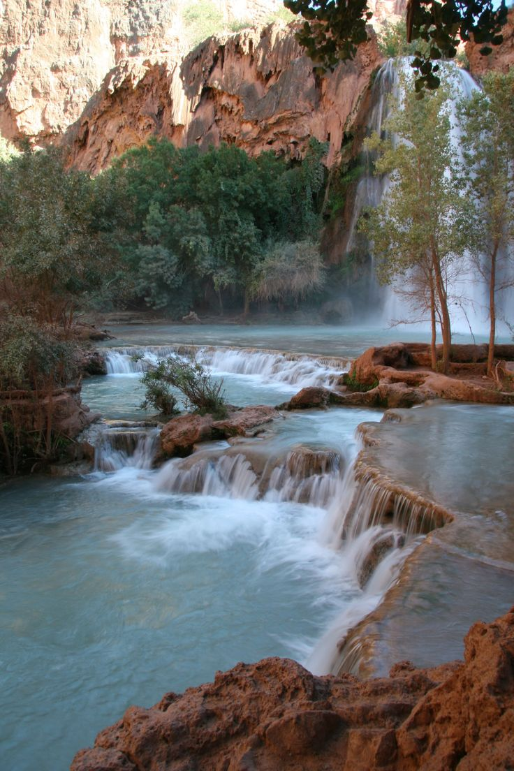 This Tiny Village is the Grand Canyon's Best Kept Secret: Havasu Canyon lies the tiny village of Supai, home to the Havasupai tribe.