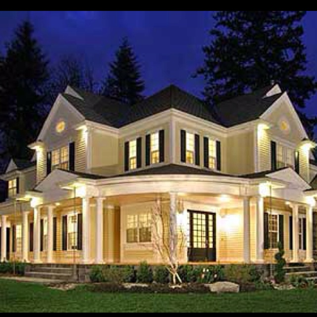 I wishCountry Porches, Home Plans, Floors Plans, Dreams Home, Luxury House, Dreams House, Country Home, Wraps Around Porches, House Plans