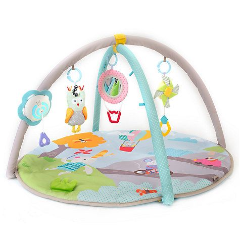 Buy Taf Toys Baby Musical Nature Gym Play Mat Online at johnlewis.com