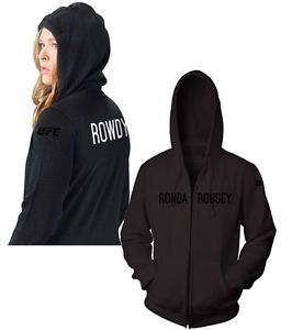 UFC Ronda Rousey Rowdy Walkout Hoodie MMA
