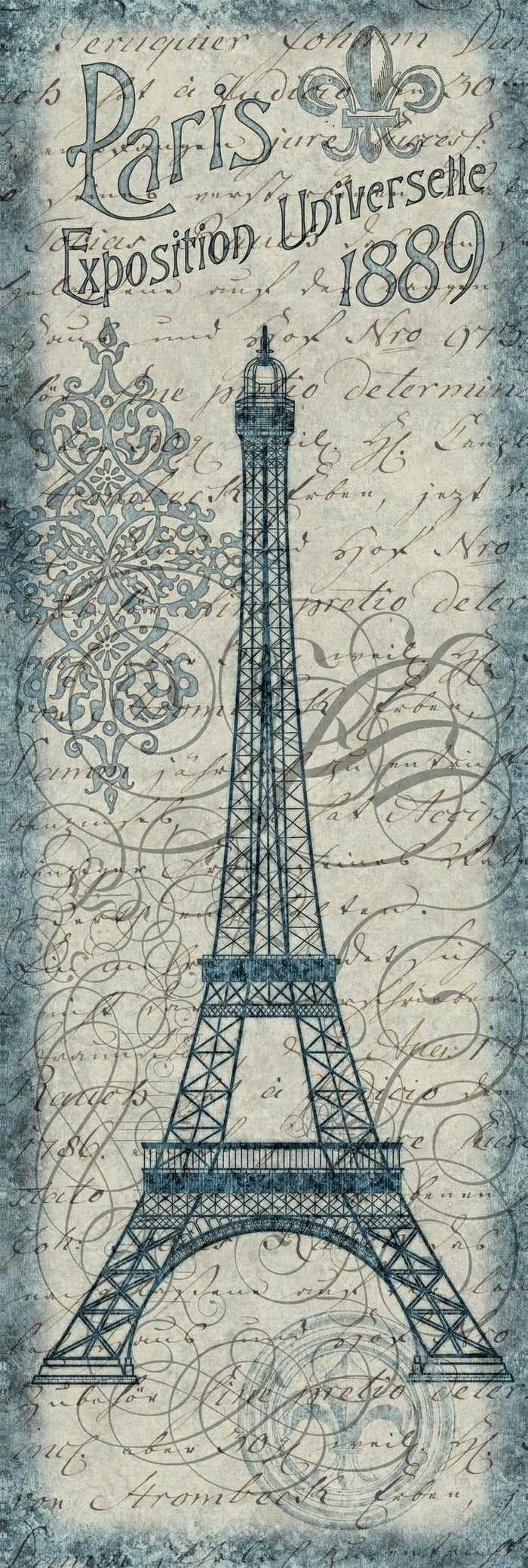 This is an image of Sweet Printable Eiffel Tower