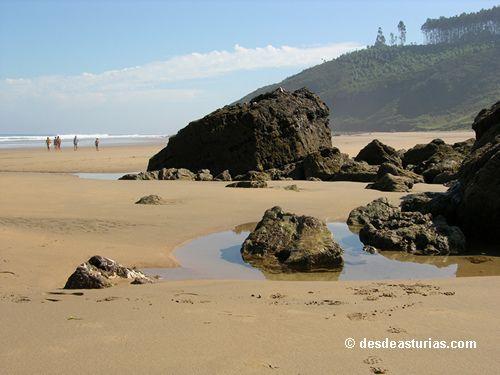 Playa Arenal de Morís #Asturias Playas Asturias [Más info] http://www.desdeasturias.com/playa-arenal-de-moris-asturias/