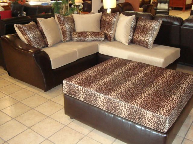 Leopard Print Sofas Chic Animal Print Sofa With Ons Style