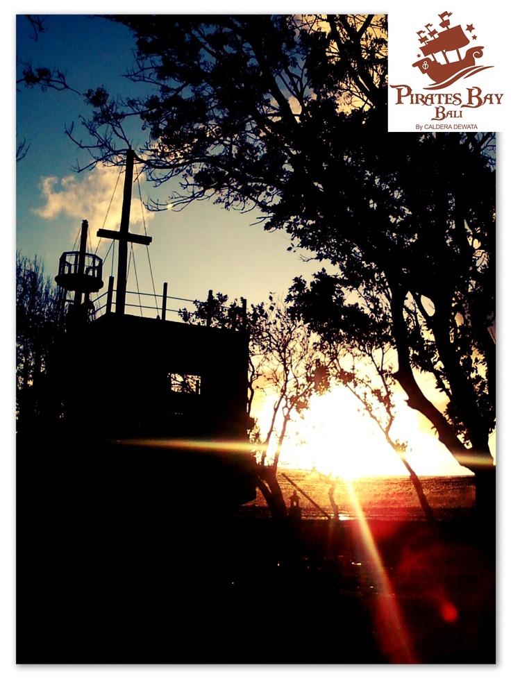 sun rise - The Pirates Bay Nusa Dua Bali - Indonesia