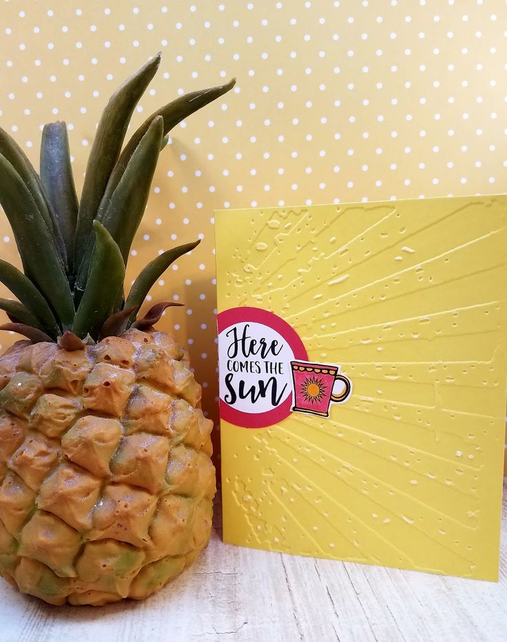Handmade card by Sandi Pressley using the Rise and Shine digital set from Verve. #vervestamps