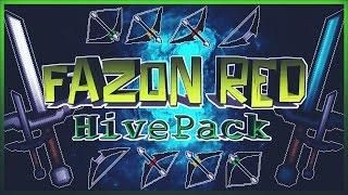 MINECRAFT PVP TEXTURE PACK - FAZON RED HIVE PACK