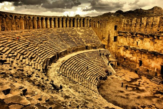 Древний город Аспендос в Турции | AllNews 7 day http://allnews7day.ru/history/aspendos-turtsiya