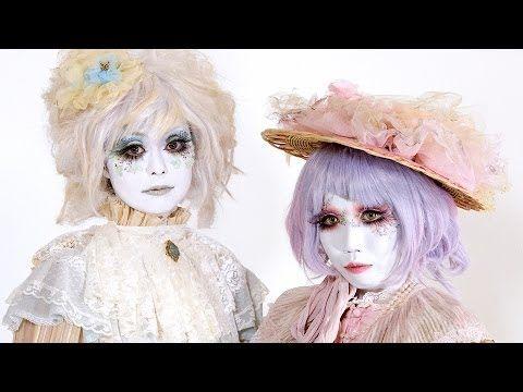 Shironuri Makeup Tutorial by Minori – 白塗り メイク – YouTube