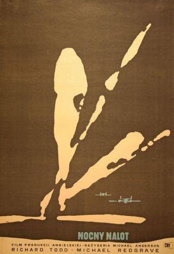 The Dam Busters, UK. Designer: W.Swierzy, 1957. Size: 85X58cm  £400