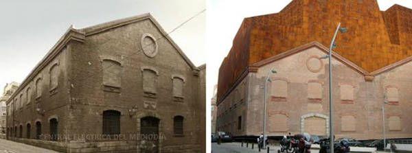Intervención de espacios históricos y edificios industriales